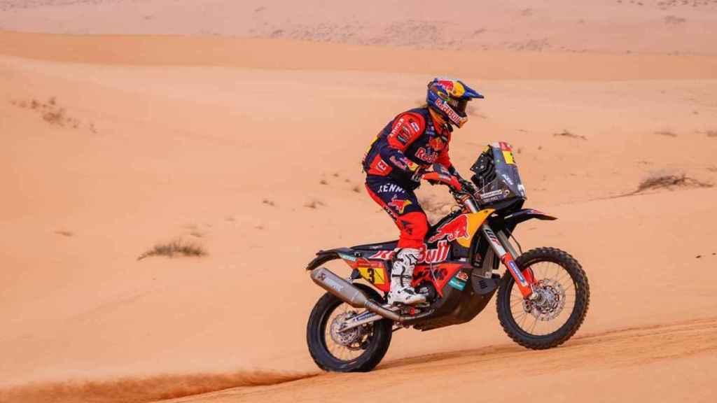 Toby Price en la etapa 8 del Rally Dakar 2021