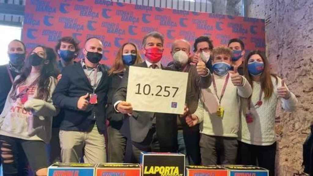 Joan Laporta consigue 10.257 firmas para presentarse a la presidencia del Barcelona