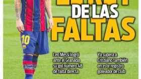 La portada del diario SPORT (11/01/2021)