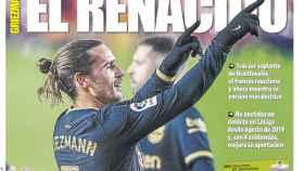 La portada del diario Mundo Deportivo (11/01/2021)