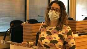 Sara Martínez, en una imagen de este lunes