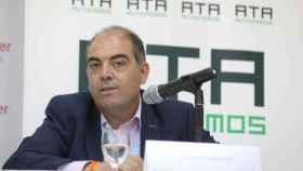 El presidente de ATA, Lorenzo Amor, en una imagen de archivo