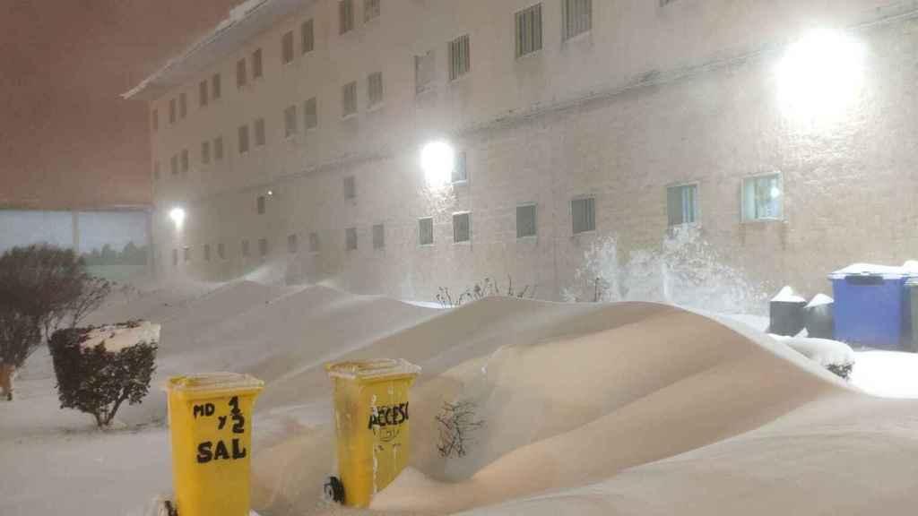 Imagen del exterior de la cárcel de Soto del Real el pasado sábado.