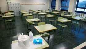 Interior de un colegio en Madrid. Efe