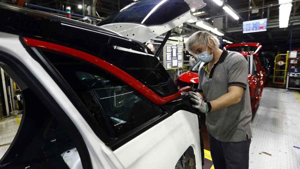 Planta de fabricación de automóviles.