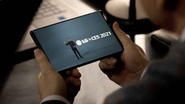LG Rollable, el nuevo móvil enrollable de LG