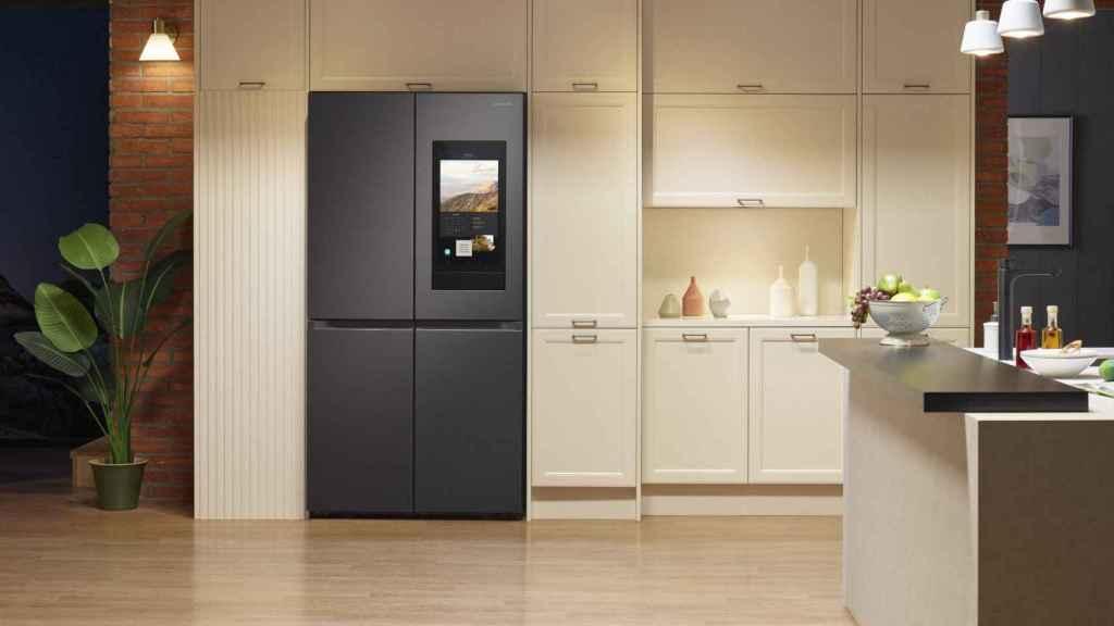Nuevo frigorífico de cuatro puertas de Samsung