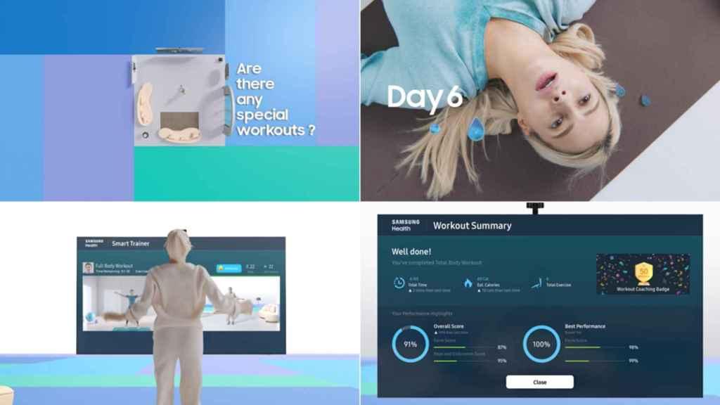 Samsung Health Smart Trainer llegaa los televisores de la compañía de 2021.
