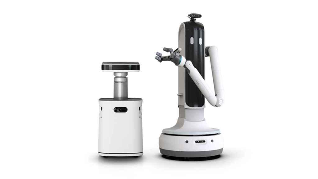 Samsung ha presentado dos nuevos robots en el CES 2021.