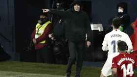 Zidane, en Pamplona.