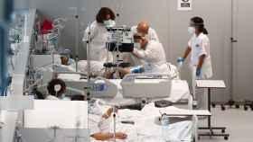 Imagen del Hospital Isabel Zendal.