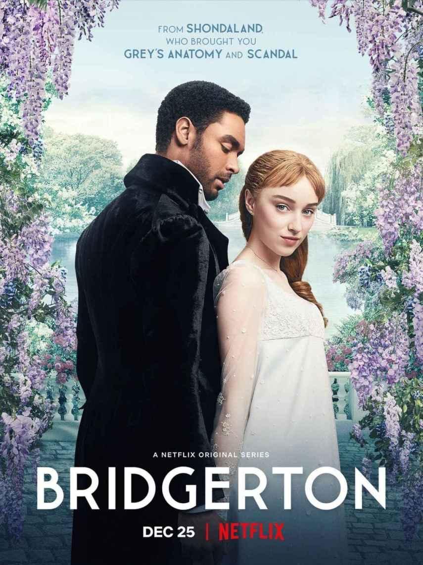 Cartel de la serie 'Los Bridgerton'.