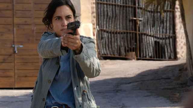 Megan Montaner interpreta a la sargento Sara Campos en 'La Caza. Tramuntana'.