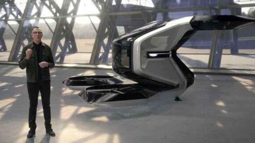 Uno de los proyectos de dron de movilidad personal presentado por General Motors en CES 2021