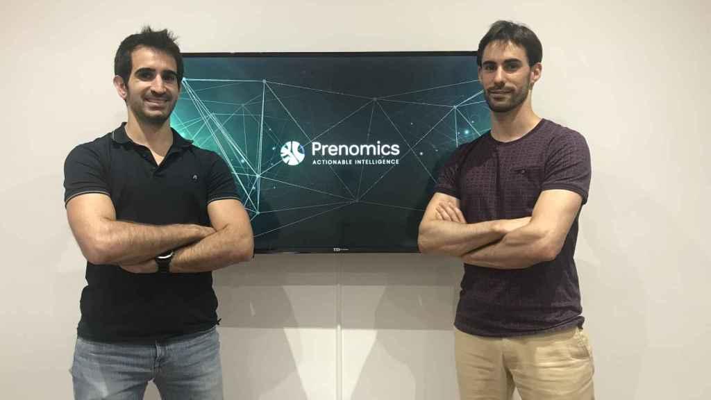 Roger Agustín y Eloy Marín, fundadores de Prenomics.