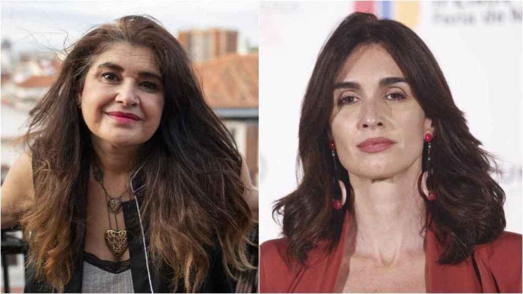Lucía Etxebarría y Paz Vega.