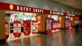 Una tienda de Dufry en los aeropuertos de Aena.