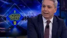 Vicente Vallés en 'El Hormiguero' (Antena 3)