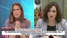 Silvia Intxaurrondo e Isabel Díaz Ayuso