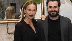 Carola Baleztena y Emiliano Suárez, en la inauguración de Garaje Lola, el pasado mes de octubre.