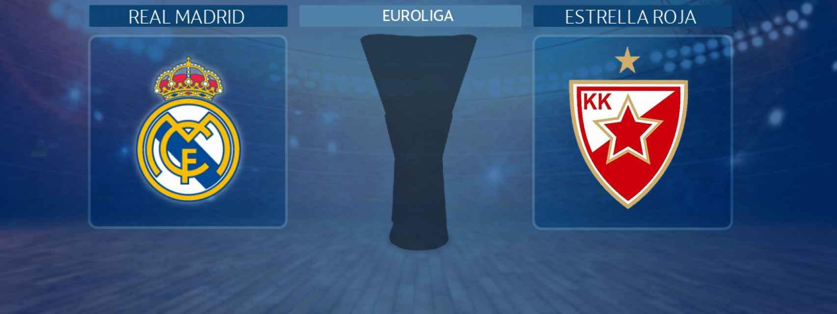 Real Madrid - Estrella Roja, partido de la Euroliga