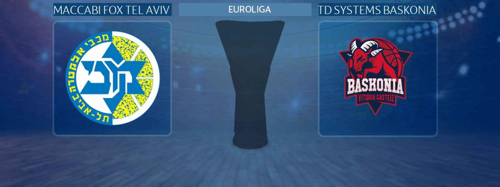 Maccabi Fox Tel Aviv - TD Systems Baskonia, partido de la Euroliga
