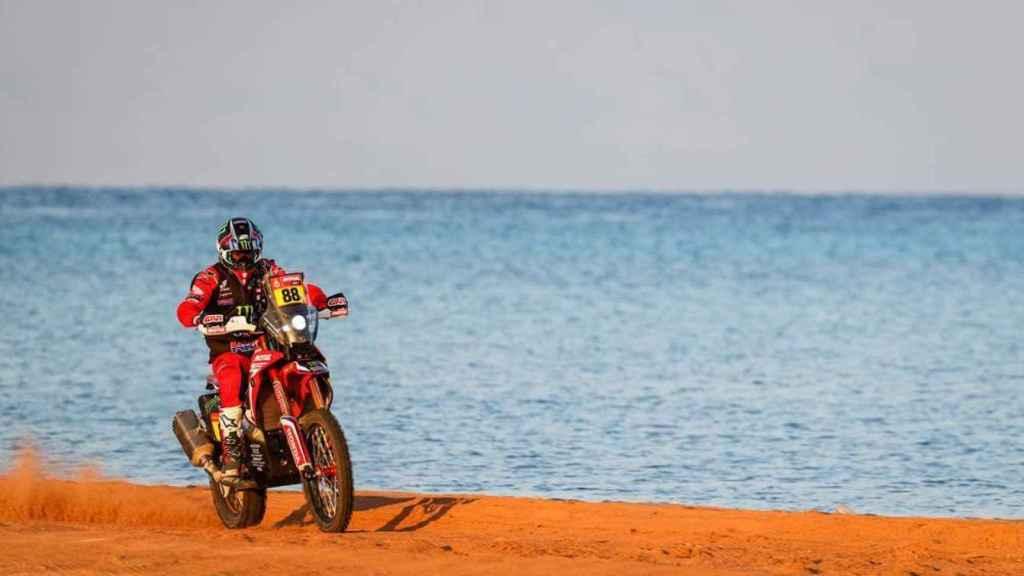Joan Barreda en la etapa 9 del Rally Dakar 2021