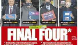 Portada Mundo Deportivo (12/01/21)