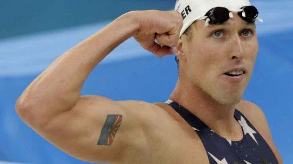 El campeón olímpico de natación, Klete Keller