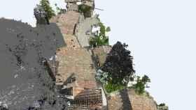 Visualización de Rupit tras ser escaneado por el dron de Octocam-maps.