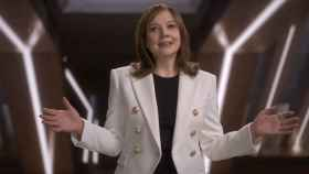 Mary Barra, presidenta y CEO de General Motors, durante su intervención en CES 2021