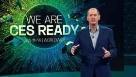 Gary Shapiro, CEO de CTA, en la inauguración del CES 2021