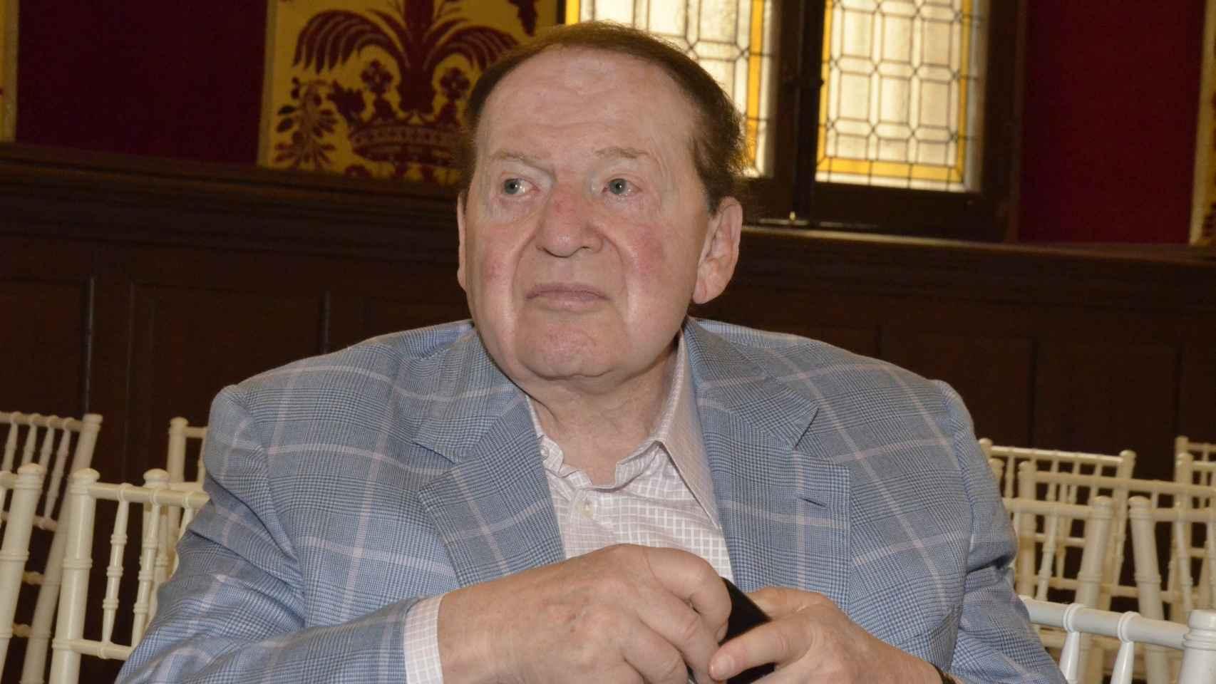 Sheldon Adelson fue el fundador de Las Vegas Sands