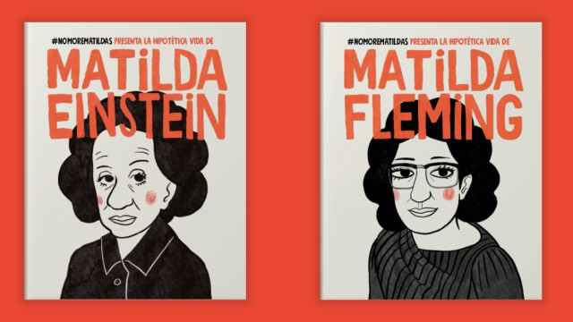 Los libros de la campaña #NoMoreMatildas.