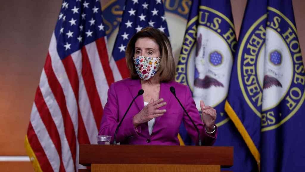 Nancy Pelosi, presidenta de la Cámara de Representantes de Estados Unidos.