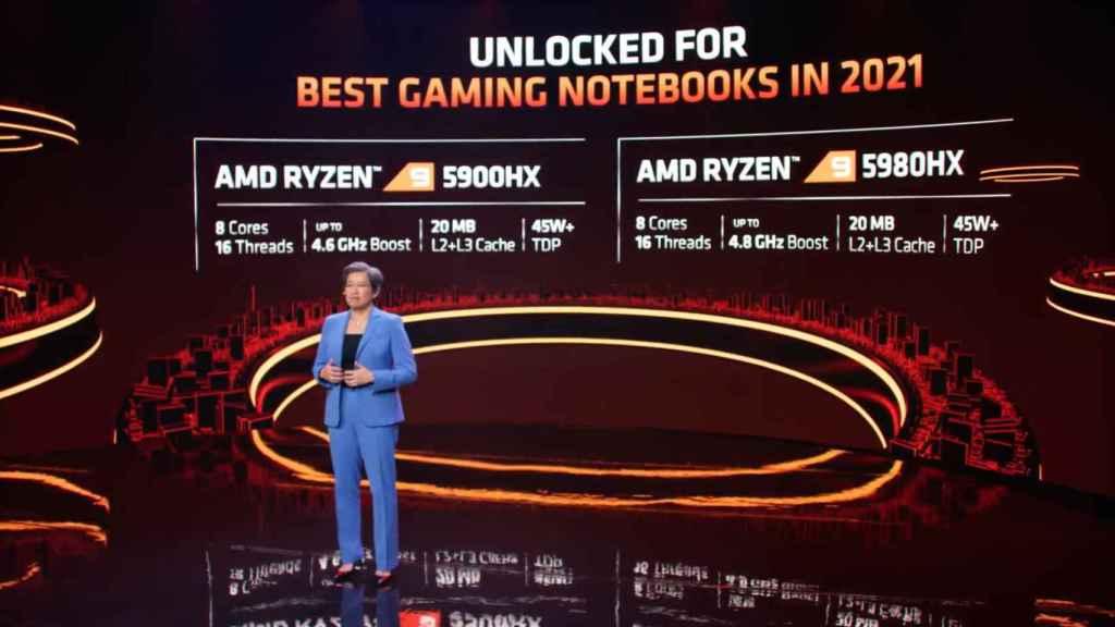 Nuevos AMD Ryzen para portátiles de juegos
