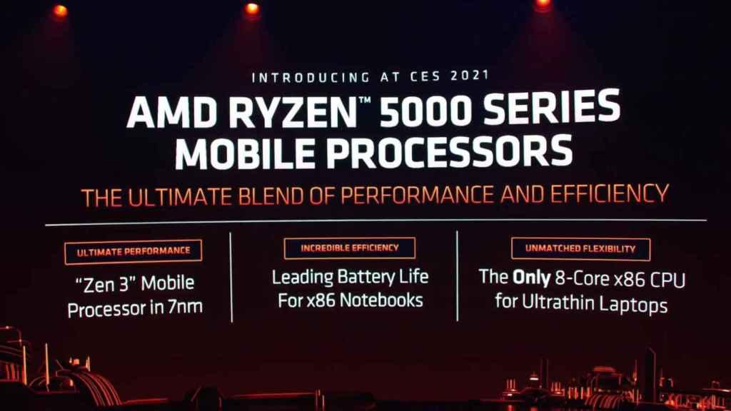 Nuevos AMD Ryzen para portátiles