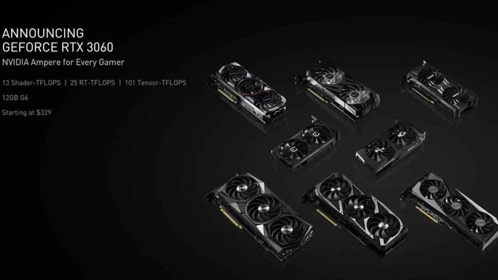 Nueva Nvidia RTX 3060