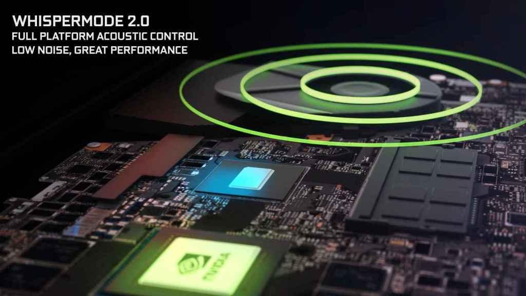 Nuevo Whisper Mode 2.0 en gráficas Nvidia para portátiles