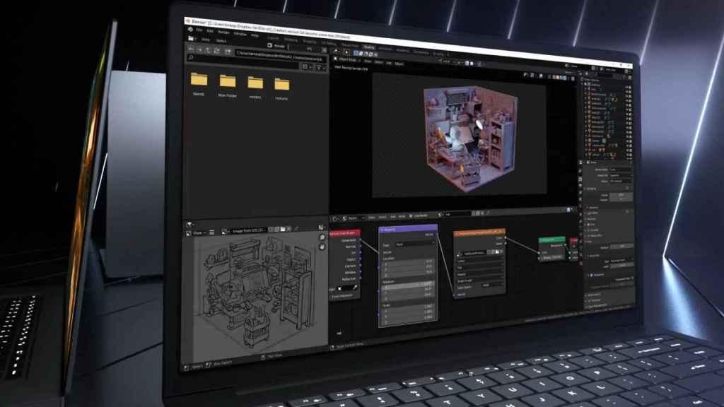 Los nuevos portátiles Nvidia prometen rendimiento en creación de contenido
