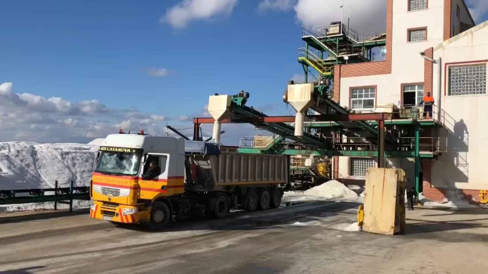 Madrid hace una compra histórica de sal en Torrevieja