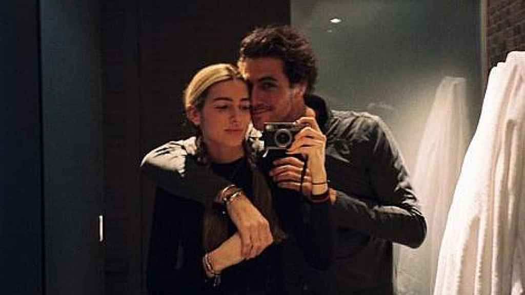 Daniela Figo y Beltrán Lozano, en una imagen compartida en Instagram.