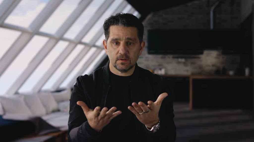 Panos Panay, director de producto de Microsoft.