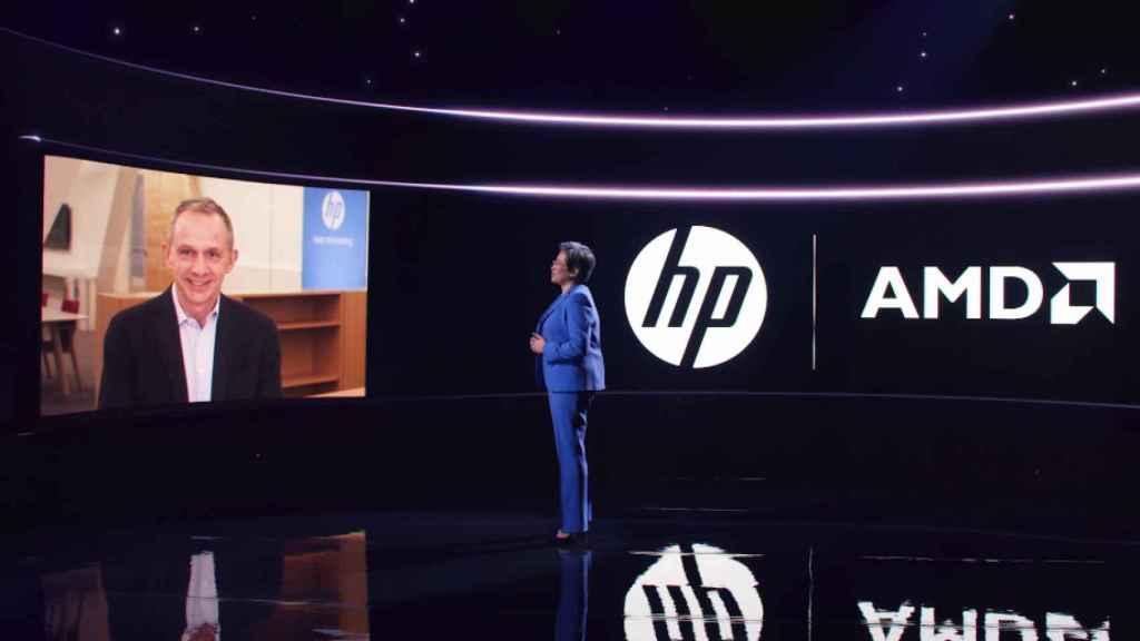 Enrique Lores, CEO de HP.