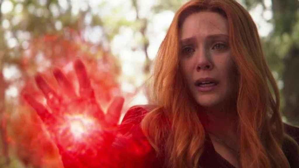 Wanda Maximoff en 'Vengadores: Endgame'.