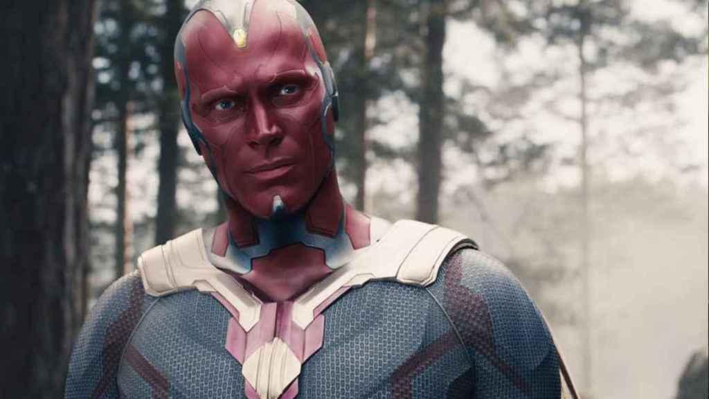 Vision en  'Vengadores: Infinity War'