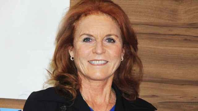Sarah Ferguson durante una exposición en Las Vegas, Nevada.