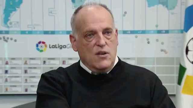 Javier Tebas, en RTVE