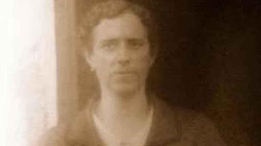 Amadora Domínguez, una de las mujeres de Zufre ejecutadas en Higuera de la Sierra.