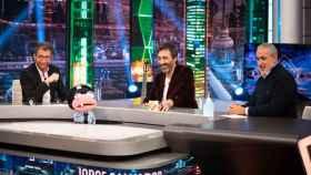 Pablo Motos, Juan del Val y Jorge Salvador en 'El Hormiguero' (Antena 3)